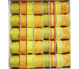 Ditipo Fabric ribbon with mustard wire 3 mx 25 mm