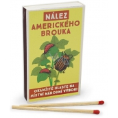 Nekupto Original retro style matches Find an American beetle report immediately to your local National Committee! 45 pcs