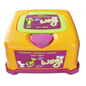 Uni Wogi Wet Toilet Paper Plastic Box 60 Pieces