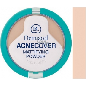 Dermacol Acnecover Powder For Problematic Skin 01 Porcelain 11 g
