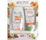 Bione Cosmetics Cannabis body lotion 500 ml + hand lotion 200 ml, cosmetic set
