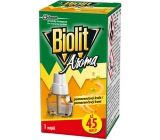 Biolit Aroma Electric vaporizer with the scent of orange against mosquitoes 45 nights refill 27 ml