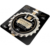 Nekupto League of True Gentlemen Opener, coaster, magnet in one Gentleman is a man with a heart in the right place. You are one of them with a diameter of 10 cm