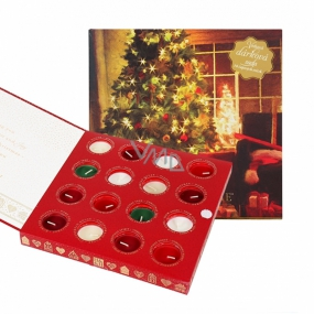 Heart & Home Soybean Scented Candle with Christmas Essences 16 pieces gift set