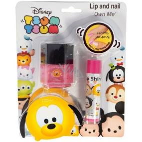 Disney Tsum Tsum Nail Polish + Lip Gloss Own Me, cosmetic set for children