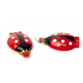 Plastic Nova Ladybugs hair band pack of 2 pieces
