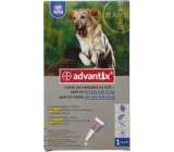 Bayer Advantix Spot On solution for dripping skin for dogs over 25 kg, 1 x 4 ml