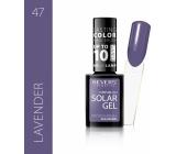Revers Solar Gel Gel Nail Polish 47 Lavender 12 ml