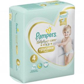 Pampers Premium Care size 4, 9-15 kg diaper panties 22 pieces