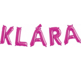 Albi Inflatable name Klára 49 cm