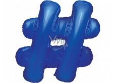 Albi Inflatable emblem Hashtag 49 cm