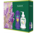 Palmolive Aroma Sensations So Relaxed Shower Gel 250 ml + Magic Softness Jasmine liquid soap dispenser 250 ml, cosmetic set