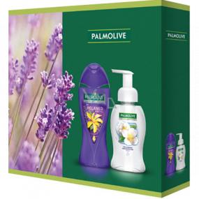Palmolive Aroma Sensations So Relaxed Shower Gel 250 ml + Magic Softness Jasmine liquid soap dispenser 250 ml, cosmetic set