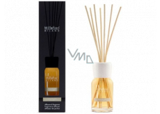 Millefiori Milano Natural Mineral Gold - Mineral Gold Diffuser 100 ml + 7 stalks 25 cm long for smaller spaces lasts 5-6 weeks