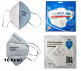 JB Oral protective respirator 5-layer FFP2 Mask CE 1463 10 pieces