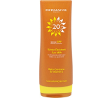 Dermacol Sun Water Resistant Milk Flip-top SPF20 waterproof emollient suntan lotion 200 ml