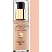 Max Factor Facefinity All Day Flawless 3v1 make-up 45 Warm Almond 30 ml