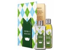 Bohemia Gifts & Cosmetics Kniha Pohádka o dědečkovi sprchový gel 250 ml + olejová lázeň 200 ml (s příjemnou citrusovou vůní). kosmetická sada