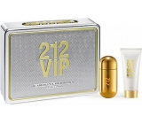 Carolina Herrera 212 VIP Women parfémovaná voda 50 ml + tělové mléko 75 ml, dárková sada