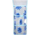 Pocket for hanging light blue 46 x 18.5 cm 3 pockets 669