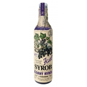 Kitl Syrob Bio Blackcurrant with pulp syrup for homemade lemonade 500 ml