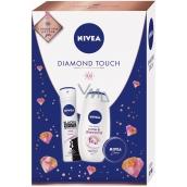 Nivea Diamond Touch SG250ml + antiper spray 150ml + cream 30ml