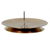 Emocio Candlestick metal table gold 5 cm 1 piece S37