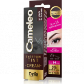 Delia Cosmetics Cameleo Creamy Professional Eyebrow Color, Ammonia Free 3.0 Dark Brown - Dark Brown 15 ml