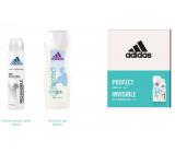 Adidas Pro Invisible antiperspirant deodorant spray for women 150 ml + shower gel 250 ml, cosmetic set