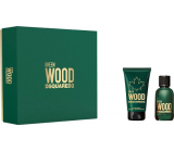 Dsquared2 Green Wood eau de toilette for men 30 ml + shower gel 50 ml, gift set