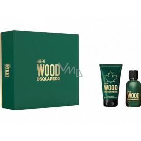 Dsquared2 Green Wood eau de toilette for men 30 ml + shower gel 50 ml, gift set