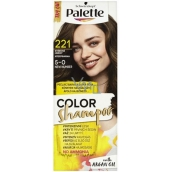 Schwarzkopf Palette Color Shampoo Toning Hair Color 221 - Medium Brown
