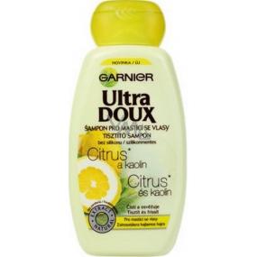 Garnier Ultra Doux Citrus and Kaolin shampoo for oily hair 250 ml