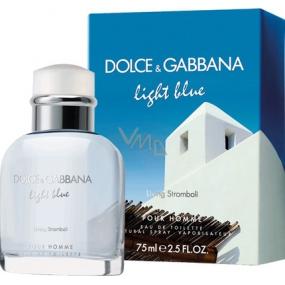 Dolce & Gabbana Light Blue Living Stromboli eau de toilette for men 75 ml