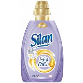 Silan Soft & Oils Care & Precious Perfume Oils Purple fabric softener concentrate 42 doses 1.5 l