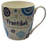 Nekupto Twister hrnek se jménem František modrý 0,4 litru 019 1 kus