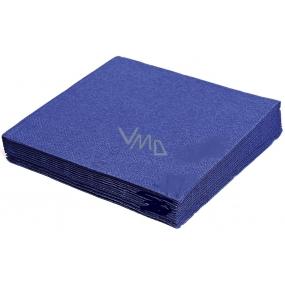 Gastro Paper napkins colored dark blue 2 layers 33 x 33 cm 50 pieces