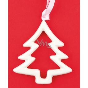 Ceramic sapling for hanging 8 cm