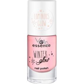 Essence Winter Glow Nail Polish nail polish 04 Let It Glow 8 ml