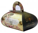 English Soap Šípková Růže Přírodní parfémované mýdlo s bambuckým máslem 260g
