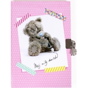 Me to You Diary pink 21 x 14 cm