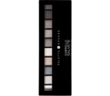 Gabriella Salvete Palette 10 Shades eyeshadow palette with mirror and applicator 03 Gray 12 g