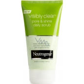 Neutrogena Visibly Clear Pore & Shine Daily Scrub pleťový peeling 150 ml
