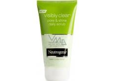 Neutrogena Visibly Clear Pore & Shine Daily Scrub pleťový peeling 150 ml