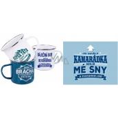 Albi Tin mug with the name Kamarádka 250 ml