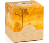 Heart & Home Amber Forest Soy scented candle without packaging burns for up to 15 hours 53 g