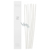 Millefiori Milano Aria Zona Replacement natural Rattan stalks 7 pieces in lengths of 30 cm for diffuser 250 ml