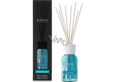 Millefiori Milano Natural Mediterranean Bergamot - Mediterranean bergamot Diffuser 100 ml + 7 cm long stalks in smaller spaces last 5-6 weeks