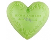 Soap in heart shape - Olives and lime flower 100g 7474
