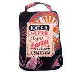 Albi Folding zippered bag for a handbag named Katka 42 x 41 x 11 cm
